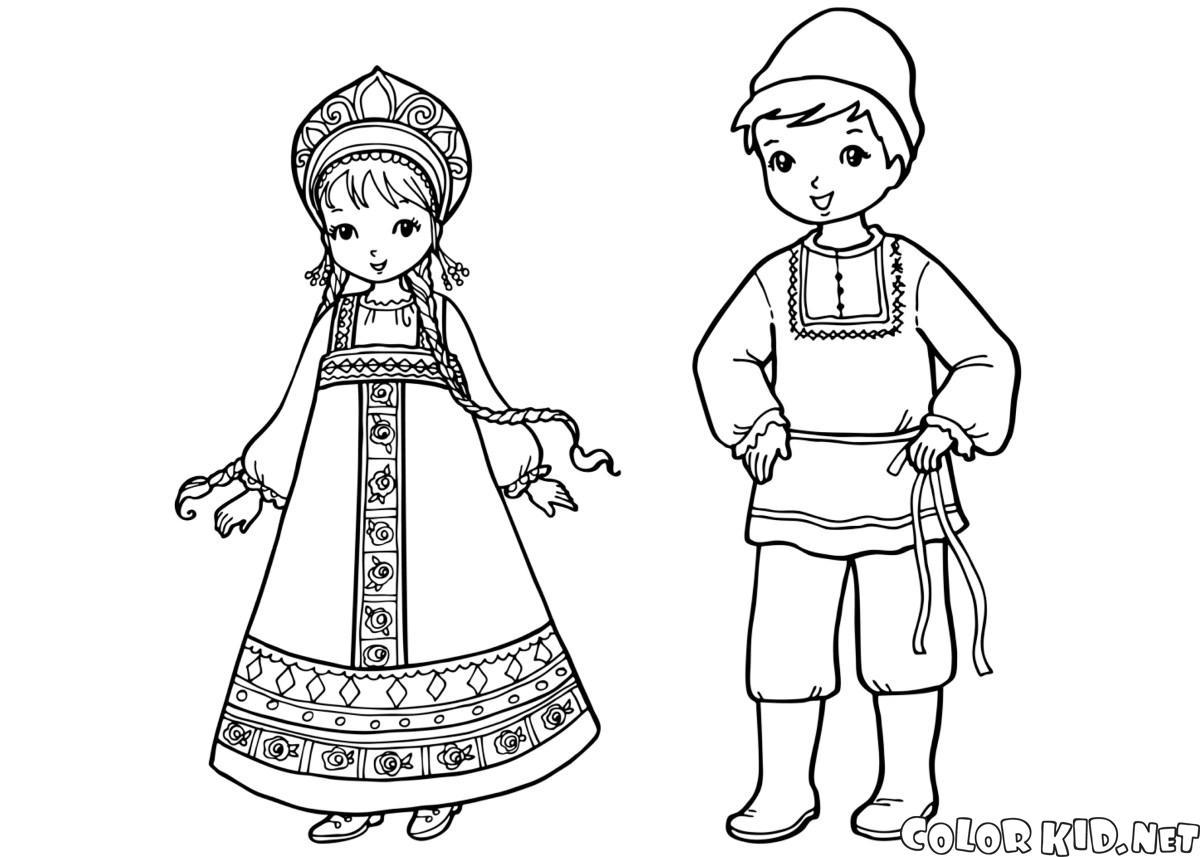 俄羅斯兒童