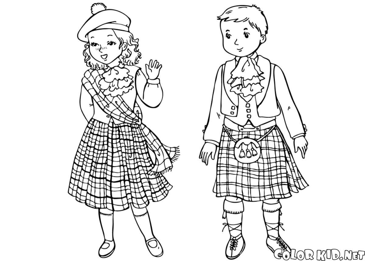 蘇格蘭兒童
