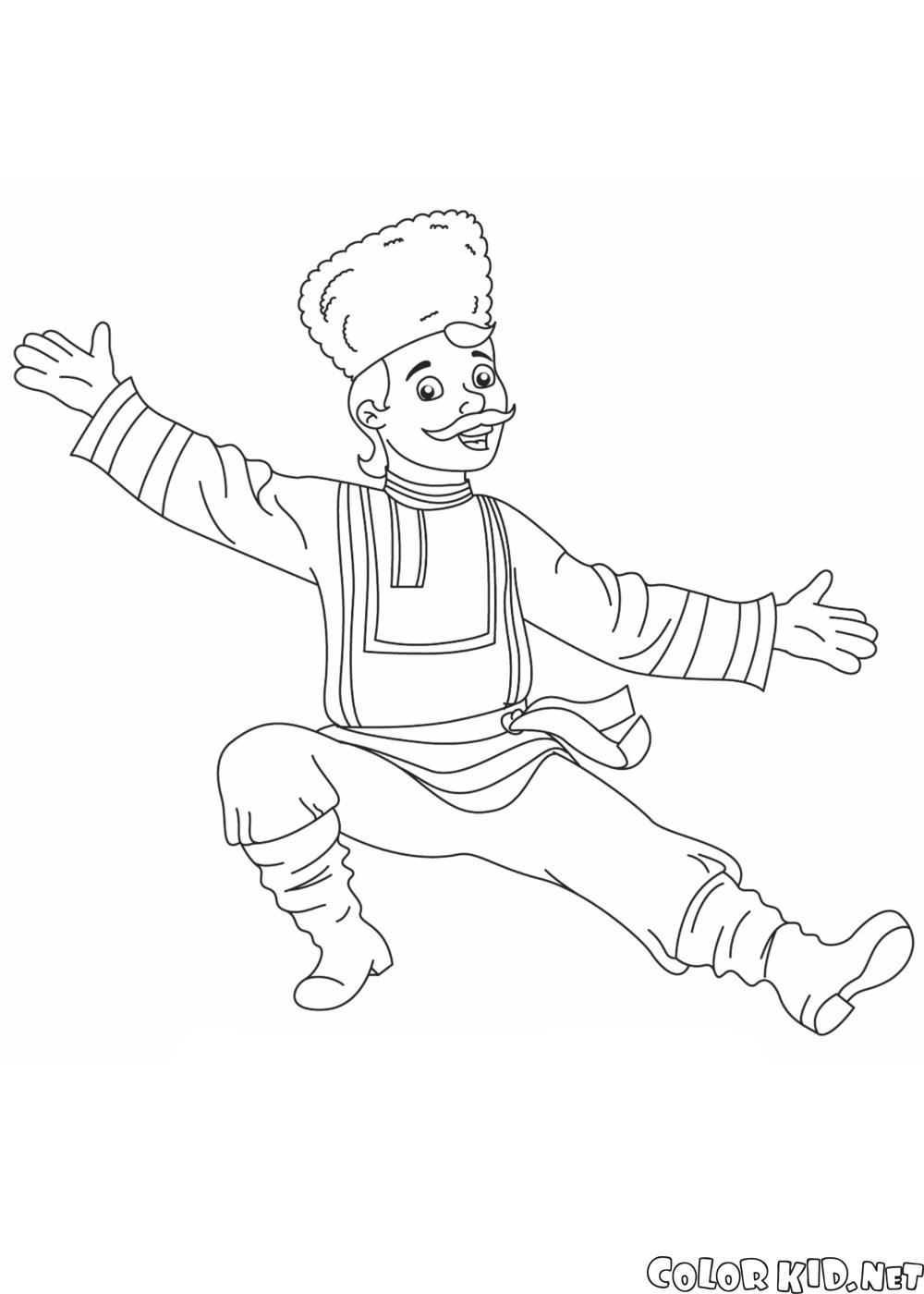 俄羅斯的舞者