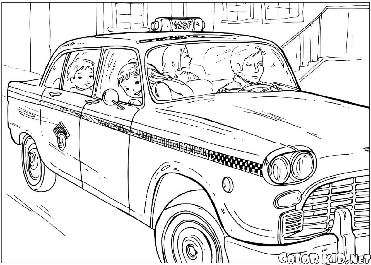 紐約出租車